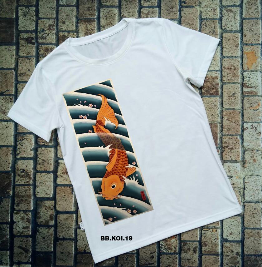 Áo thun cá Koi BB.KOI.19