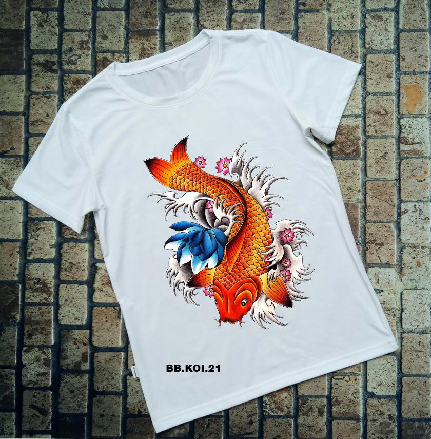 Áo thun cá Koi BB.KOI.21